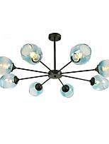 abordables -QINGMING® 8 lumières Mini Lustre Lumière d'ambiance Finitions Peintes Métal Verre Style mini 110-120V / 220-240V