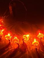 abordables -3M Guirlandes Lumineuses 20 LED Rouge Décorative Piles AA alimentées 1 set