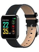 Недорогие -Indear S88 Умный браслет Android iOS Bluetooth Спорт Водонепроницаемый Пульсомер Измерение кровяного давления Сенсорный экран / Израсходовано калорий / Длительное время ожидания / Педометр