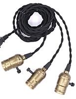 abordables -CXYlight 3 lumières Nouveauté Lampe suspendue Lumière dirigée vers le bas Métal Design nouveau 110-120V / 220-240V