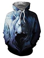 Недорогие -Вдохновлен KARNEVAL Косплей Аниме Косплэй костюмы Косплей толстовки Новинки / Животное / Мода Толстовка Назначение Универсальные Костюмы на Хэллоуин
