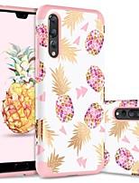 billiga -BENTOBEN fodral Till Huawei P20 Pro Stötsäker / Mönster Skal Frukt Hårt TPU / PC för Huawei P20 Pro