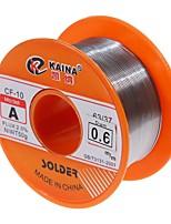 Недорогие -0,6 / 0,8 / 1 / 1,2 / 1,5 мм 63/37 флюс 2,0% 45-футовый оловянный оловянный стальной расплав канифоль паяльник для пайки
