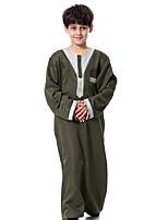 Недорогие -Дети Мальчики Контрастных цветов Длинный рукав Набор одежды