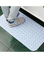 baratos -1pç Tradicional Tapetes Anti-Derrapantes Poliéster Elástico Tricotado 100g / m2 Inovador Retângular Banheiro Antiderrapante