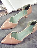 Недорогие -Жен. Комфортная обувь Полиуретан Осень Обувь на каблуках На шпильке Бежевый / Розовый