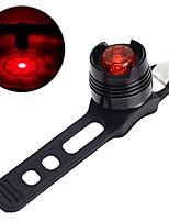 Недорогие -Задняя подсветка на велосипед Велосипедные фары Велоспорт Водонепроницаемый, Портативные, Легкость 50 lm Красный