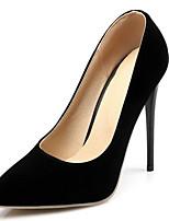 Недорогие -Жен. Комфортная обувь Лакированная кожа Весна Обувь на каблуках На шпильке Красный / Синий / Миндальный