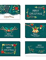 abordables -Merci Cartes Papier durci Décorations de Mariage Noël / Fête / Soirée Noël / Créatif / Vintage Theme Toutes les Saisons