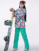 abordables -GSOU SNOW Femme Veste de Ski Lunettes de Ski, Ski, Sports d'hiver Sports d'hiver Polyester Hauts / Top Tenue de Ski