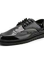 Недорогие -Муж. Комфортная обувь Полиуретан Осень Кеды Золотой / Черный / Серебряный
