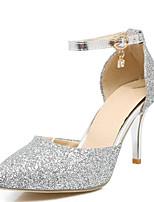 abordables -Femme Chaussures de confort Polyuréthane Eté Chaussures à Talons Talon Aiguille Or / Argent / Rose / Mariage / Quotidien
