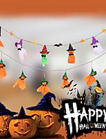 baratos -Ornamentos Pano Demin Decorações do casamento Halloween / Festa / Noite Criativo / Tema vintage Inverno
