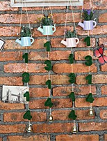 Недорогие -Искусственные Цветы 1 Филиал С креплением на стену Модерн / Простой стиль Pастений / Ваза Цветы на стену