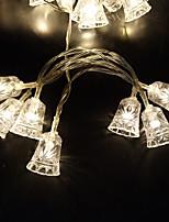 Недорогие -3M Гирлянды 30 светодиоды ДИП светодиоды Тёплый белый / Белый / Красный Декоративная Аккумуляторы AA 1шт