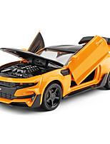 Недорогие -Игрушечные машинки Гоночная машинка Транспорт Гоночная машинка Вид на город Cool утонченный Металлический сплав Детские Для подростков Все Игрушки Подарок