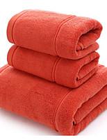 abordables -Qualité supérieure Essuie-mains, Couleur Pleine 100% Coton Chambre à coucher 1 pcs