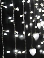 Недорогие -1,5 м Гирлянды 48 светодиоды Белый Декоративная 220-240 V 1 комплект