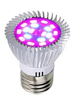 Недорогие -1шт 8 W 640 lm E26 / E27 Растущая лампочка 18 Светодиодные бусины SMD 5730 Полного спектра Красный / Синий 85-265 V