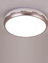 Недорогие -Монтаж заподлицо Рассеянное освещение Окрашенные отделки Металл Акрил Новый дизайн AC100-240V Теплый белый / Белый