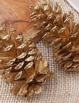 Недорогие -Праздничные украшения Рождественский декор Рождественские украшения Декоративная Золотой 1шт