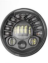 Недорогие -OTOLAMPARA 1 шт. H4 Автомобиль Лампы 70 W Dip LED 8400 lm 70 Светодиодная лампа Налобный фонарь Назначение Jeep Wrangler Все года