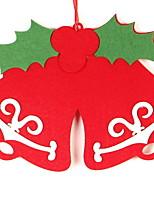 Недорогие -Праздничные украшения Рождественский декор Рождественские украшения Декоративная Красный 1шт