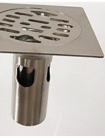 Недорогие -Слив Новый дизайн / Cool Современный Нержавеющая сталь 1шт Установка на полу