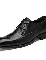 cheap -Men's Formal Shoes Nappa Leather Spring & Summer / Fall & Winter Business / British Oxfords Non-slipping Black / Brown