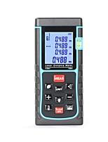 Недорогие -портативный лазерный измерительный прибор / инфракрасный дальномер / электронная линейка 100 метров обновленная версия rze100