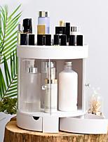 Недорогие -Место хранения организация Косметологический макияж пластик Круглые Двойной слой