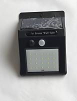 Недорогие -1шт 4 W Солнечный свет стены Водонепроницаемый / Работает от солнечной энергии / Монитор обнаружения движения Холодный белый 3.7 V Уличное освещение / двор / Сад 20 Светодиодные бусины