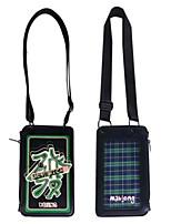 Недорогие -Жен. Мешки PU Мобильный телефон сумка Узоры / принт Белый / Черный / Темно-зеленый