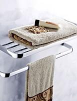 Недорогие -Держатель для полотенец Новый дизайн / Cool Современный Нержавеющая сталь 1шт Двуспальный комплект (Ш 200 x Д 200 см) На стену