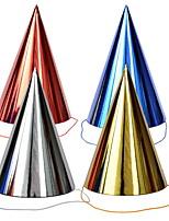 Недорогие -Праздничные украшения Рождественский декор Декоративные объекты Декоративная / Cool Темно-красный 4шт