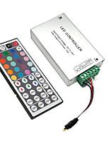 Недорогие -ZDM® 1шт SMD 3528 / SMD 5050 Дистанционно управляемый / Аксессуары для ламп / Газонокосилка Пластиковые & Металл Контроллер для RGB LED Strip Light 120 W