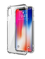 abordables -Coque Pour Apple iPhone XR / iPhone XS Max Antichoc / Transparente Coque Couleur Pleine Flexible TPU pour iPhone XS / iPhone XR / iPhone XS Max
