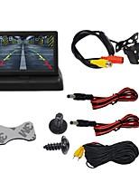 Недорогие -BYNCG 4.3ZD 4.3 дюймовый TFT-LCD 480TVL 480p 1/4 дюйма, цветная КМОП Проводное 120° 1 pcs 120 ° 4.3 дюймовый