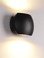 Недорогие -современные 12w привело наружные настенные светильники простота стиль прихожая лестницы вход стены брани 85-265v