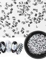abordables -1 pcs Paillettes Meilleure qualité Mode Manucure Manucure pédicure Quotidien simple / Géométrique