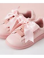 Недорогие -Девочки Обувь Полиуретан Весна & осень Удобная обувь Кеды для Дети / Для подростков Белый / Розовый
