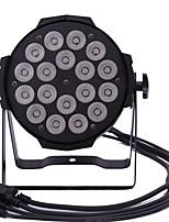 baratos -1pç 150 W 3200~5600 lm lm 18 Contas LED Criativo / Regulável / Cores Gradiente Luzes LED de Cenário RGB + Branco 220-240 V Comercial / Palco