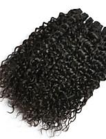 Недорогие -6 Связок Малазийские волосы Волнистые Натуральные волосы Необработанные натуральные волосы Подарки Человека ткет Волосы Сувениры для чаепития 8-28 дюймовый Естественный цвет Ткет человеческих волос