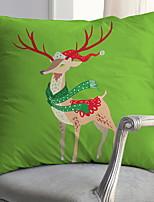 Недорогие -Наволочка Праздник Ткань Для вечеринок Рождественские украшения