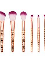 Недорогие -6 предметов Кисти для макияжа профессиональный Кисть для румян / Кисть для теней / Кисть для помады Нейлоновое волокно Закрытая чашечка