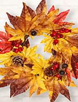 Недорогие -Праздничные украшения Рождественский декор Рождественские украшения Декоративная Желтый 1шт