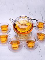 Недорогие -Drinkware Высокое боровое стекло Необычные чашки / стаканы Boyfriend Подарок / Подруга Gift 8 pcs
