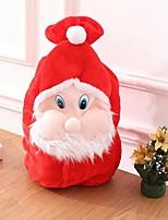 Недорогие -Праздничные украшения Рождественский декор Хранение новогодних аксессуаров Милый Красный 1шт