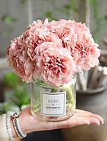 abordables -Fleurs artificielles 5 Une succursale Classique Moderne / Contemporain Pivoines Fleur de Table