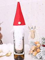 Недорогие -Праздничные украшения Рождественский декор Рождество Декоративная Серый / Красный / Зеленый 1шт